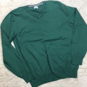 Old Navy Solid Green Pullover Sweater